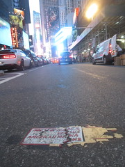 House of Hades Broken Up Style Toynbee Tile 7785 (Brechtbug) Tags: house hades toynbee tile broken up new york city plus colossus roads brakeman brush in surrealville 2018 ford art artist mosaic parts part shattered smashed jumbled black top asphalt 08152018 nyc broadway fifty first street