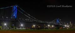 br_1102 (Curt Hudson) Tags: bridge camden philadelphia night moon skyline pa nj pennsylvania newjersey lights