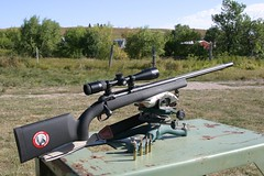 Savage Model 10 long range rifle in 6.5 Creedmoor mounting a Nikon tactical long range optic. (huntingmark) Tags: guntest gun rimfire optics testing shooting field range warmup target longrange 308win wildcat hunter expert scope sniper itacha nightforce 65creedmoor creedmoor ruger chassis rifle hunting 300win blackout hornady