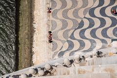 Lisboa (genf) Tags: padrão dos descobrimentos santa maria de belem lisbon lisboa lissabon portugal downwards beneden mosaic mozaiek beeld sculpture river rivier taag sony a99ii outdoor buiten abstract concrete floor stone steen