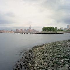 Pier C Park (devb.) Tags: 6x6 mediumformat hasselbladswcm ektar piercpark hoboken nj hudsonriver nyc