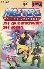Masters of the Universe #33 (micky the pixel) Tags: mastersoftheuniverse hörspiel radioplay kompaktkassette compactaudiocassette mc tape cover studioeuropaproduktion mattel heman mossman trapjaw