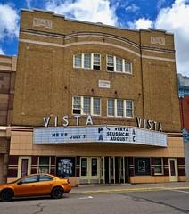 Vista Theatre, Negaunee, MI (Robby Virus) Tags: negaunee michigan mi up upper peninsula vista theatre theater plys movies national register historic places nrhp jj rytkonen