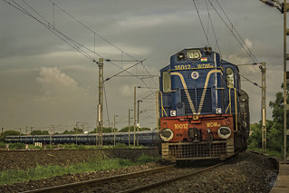 Deccan Odessey liveried Ex-KYN, PA homed ALCO DM3A