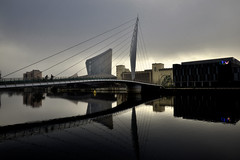 The Manchester Ship Canal (JEFF CARR IMAGES) Tags: canals manchester reflections