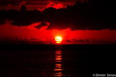Beautiful sundown on the beach in Pereybere Mauritius (dudi_dudewitz) Tags: meer sonnenuntergang himmel wasser ozean bucht landschaft dämmerung wolke see mauritius pereybere