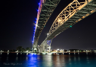 Twin spans over the river...