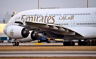 Airbus A380-861  A6-EOS — Emirates Airlines