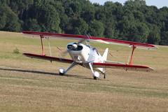 ShuttleworthFamilyAirshow2018-903 (mcaviationphoto) Tags: oldwardenaerodrome theshuttleworthcollection shuttleworthfamilyairshow gbzwv pfa06410751 steenskybolt steen steenaerolabinc biplane aerobatic