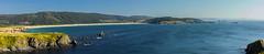 Cobas y San Jorge (Juan Pedro Barbadillo) Tags: playa beach panorámica panorama cliffs acantilados sea mar atlanticocean océanoatlántico