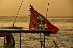 Jolly Roger (ucumari photography) Tags: ucumariphotography keywest florida fl sunset july 2018 flag jollyroger dsc3200