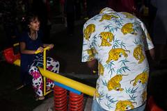 Dhaka | 2018 (Sohail Bin Mohammad) Tags: street streetphotography color colorful candid unposed flash flickr explore explorer 365 tiger animal streetanimals yellow kids outdoor outside asia dhaka bangladesh urban urbanstreetphotography canon canon700d 7dwf dusk moment sohailbinmohammad city new