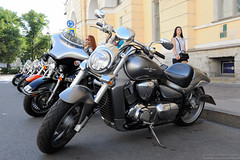 Boulevard  M1800R (dmitrytsaritsyn) Tags: afsnikkor2470mm128ged photography stpetersburg motorcyclephotography d3s outdoor russia motorcycles boulevard harleydays