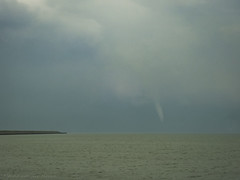 Waterspout over IJsselmeer (mesocyclone70) Tags: waterspout tornado water storm thunderstorm stormchase chase lake holland netherlands
