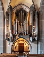 Orgel in St-Lambertus-Düsseldorf (ulrichcziollek) Tags: nordrheinwestfalen düsseldorf kirche orgel gotisch gotik