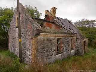 abandoned railway cottage