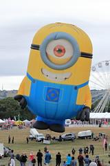 G-DMES 'Stuart the Minion' (aledy66) Tags: bristol international hot air balloon fiesta 2018 gas bag canon eos 6d 6d2 markii mk2 mkii clouds sky blue colourfull ashton court ef70300mm special shapes gdmes stuart minion