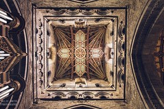 St David's Cathedral (Ollie Smith Photography) Tags: stdavidscathedral pembrokeshire westwales church religion roof art geometrical nikon d7200 sigma1750 f28 lightroomcc edited alwayslookup