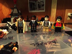 Obligatory Potter Fig Updates (Lord Allo) Tags: lego dc batman suicide squad commissioner james gordon harvey dent 1989 sarge steel robin damien wayne