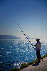 Fishing on the banks of the Tagus (Dan Haug) Tags: tagus river fisherman lisboa lisbon tejo fishermen iberian peninsula fujifilm xh1 xf1655mmf28rlmwr xf1655 summer august 2018