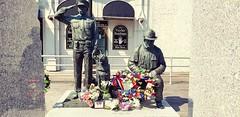 Atlantic City,  N.J.  9/11 Memorial 2018 (bpephin) Tags: ac nj jersey casino boardwalk ocean flowers memorial dog fire police
