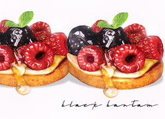 L'automne Fruit Tarte (♥ Stasey Oller ♥ [Black Bantam]) Tags: black bantam second life fruit tarte tarts foodie food pink acid stasey oller
