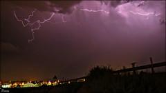 Un trocito de mi (peavy30) Tags: tormenta storm zaragoza aragon verano nubes rayos clouds nocturna agosto