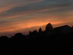 Silhouette (Hannelore_B) Tags: silhouette sonnenuntergang sunset dämmerung dusk twilight dawn himmel sky