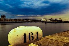 Port et ville (jérémydavoine) Tags: lehavre seinemaritime normandie port harbor ciel france sea mer sky clouds nuages architecture unesco perret augusteperret boat navire ferry