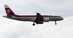 9H-AEI (PrestwickAirportPhotography) Tags: egkk london gatwick airport air malta a320 9haei airbus