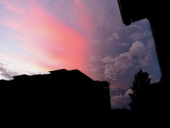 Fantasy (cirelun) Tags: sky afterstorm storm quickshot colorful clouds sunset