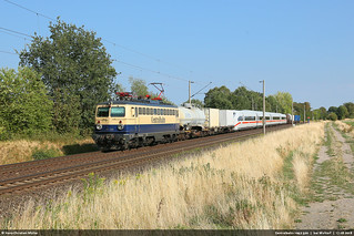 Centralbahn 1042 520 (ex ÖBB 1042 520) bei Woltorf #9229