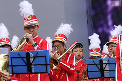 IMGL4020 (taticoma) Tags: brassband brass music musician child china red school teenage trombone trombonist frenchhorn
