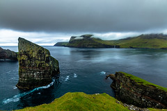 Faroe Islands at its best (holecem) Tags: ocean sea dramaticsky faroe faroeislands dragarnir drangarnirrock hike vagar boattrip trip waterfall