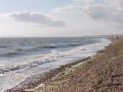 6-Meon Shore (Chris@YellowMopArt) Tags: titchfield haven meon shore solent coast beach shingle waves