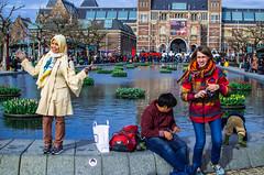 High Society [Amsterdam Atmosphere] (234/365) (Walimai.photo) Tags: amsterdam holanda holland netherlands nikon d7000 nikkor 35mm candid portrait retrato robado street calle lake lago museo museum rijksmuseum