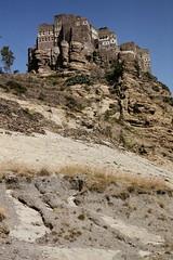 Kahel village (motohakone) Tags: jemen yemen arabia arabien dia slide digitalisiert digitized 1992 westasien westernasia ٱلْيَمَن alyaman
