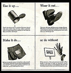 "WWII ad (meadowmom) Tags: wwii ""useitup' advertising"