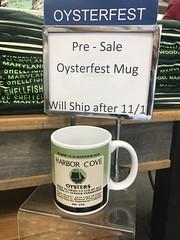 OysterFest 2018 merchandise (Chesapeake Bay Maritime Museum Photos) Tags: cbmm chesapeakebaymaritimemuseum stmichaelsmd oysterfest museum store oyster tin