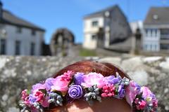 Lugo (alvaroalvarezmartinez) Tags: rusa russian lugo galicia beautiful girl flowers redhead