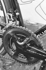 000135860010 (Harry Toumbos Photo) Tags: 35mm film ilford hp5 canon f1 50mmf12l melbourne laneway street art cycling bike road classic retro vintage steel columbus tsx campagnolo shimano dura ace ultegra
