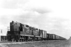 CB&Q SD9 438 (Chuck Zeiler) Tags: cbq sd9 438 burlington railroad emd locomotive derby train chz freight car boxcar
