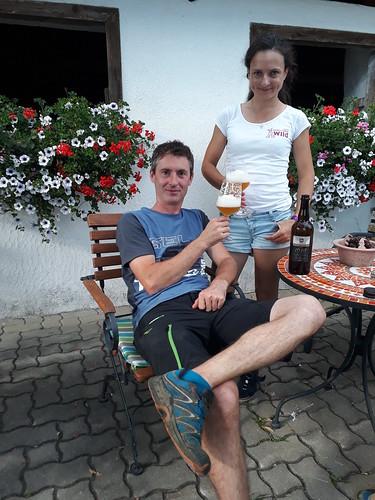 """Ein limitiertes Neumarkter Lammsbräu """"1628"""" Bio-Bier... vorzüglich... zur Feier des Tages !"""