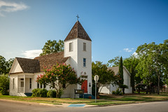 All Saints Episcopal Church - Cameron, Texas (lonestarbackroads) Tags: architecture church episcopal texas steeple belltower