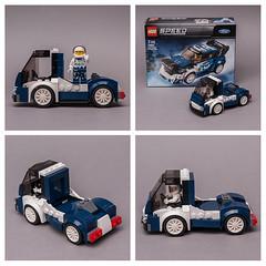 75885 Truck (KEEP_ON_BRICKING) Tags: lego speed champions set mod moc alternate model truck custom design vehicle car rebuild keeponbricking 75885 ford minifigure driver