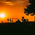 Silhouette of people during sunset thumbnail