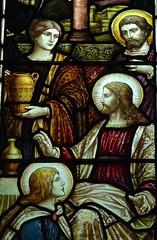 Stamford - St John the Baptist Church - Stained Glass (Glass Angel) Tags: stamford lincolnshire stjohnthebaptistchurch stainedglass heatonbutlerandbayne churchesconservationtrust