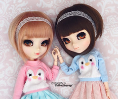 Happy Sunday! (·Yuffie Kisaragi·) Tags: doll pullip pullips alice du jardin bubbles souseiseki iona obitsu rewigged rechipped