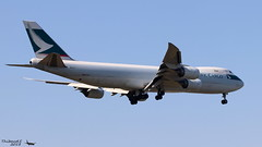 Boeing 747 -867(F) CATHAY PACIPHIC CARGO B-LJL Francfort mai 2018 (Thibaud.S.) Tags: boeing 747 867f cathay paciphic cargo bljl francfort mai 2018