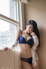 DSC_9086 (Robin Huang 35) Tags: 林珈伊 femi 01 辦公室 內衣 underwear 旅拍 人像 portrait lady girl nikon d850